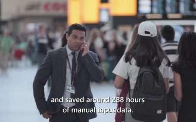 Samit Saini's Power Apps journey at Heathrow